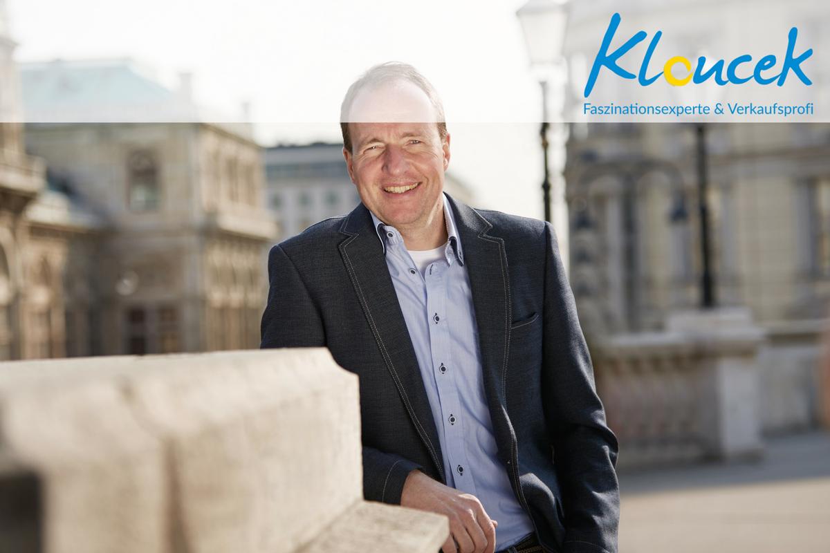 Bernhard Kloucek bei der Bank Austria - Faszinationsexperte