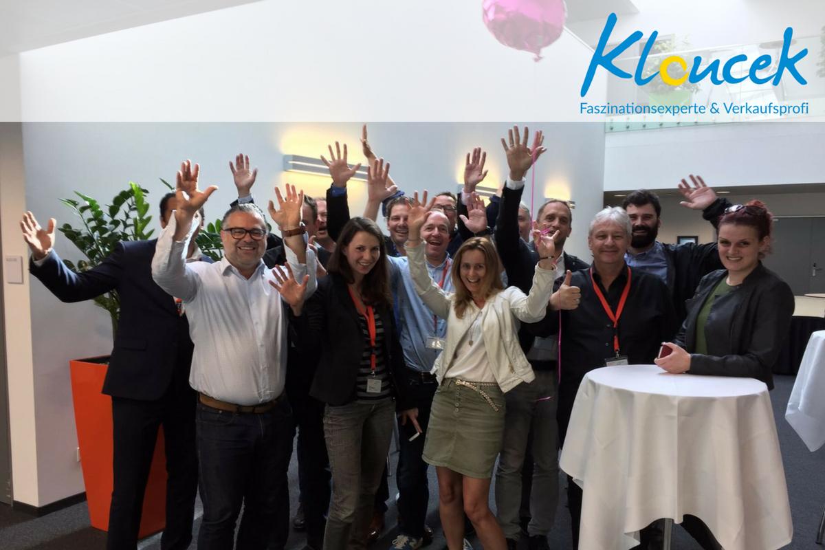 VIP Seminar zum Thema erfolgreicher verkauf und Umsatzsteigerung - Kloucek