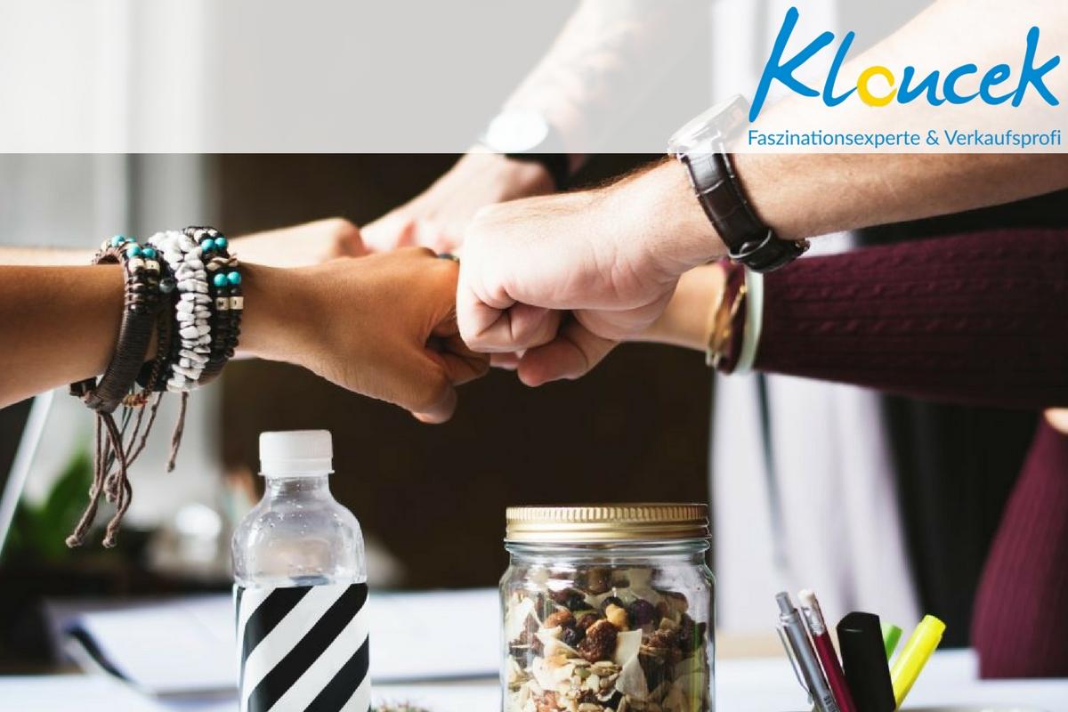Faszination führt zu Erfolg in Ihrem Business - KLOUCEK faszinationsexperte und Verkaufsprofi