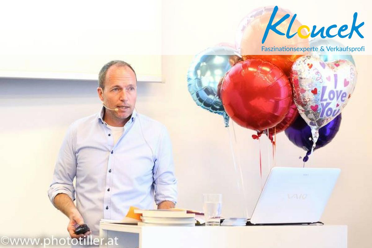 Unternehmensführung durch Faszination - Kloucek Faszinationsexperte