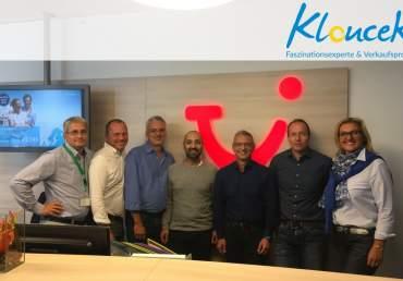 TUI Reisen - Verkaufstraining für den Außendienst - Kloucek, Verkaufsprofi und Faszinationsexperte